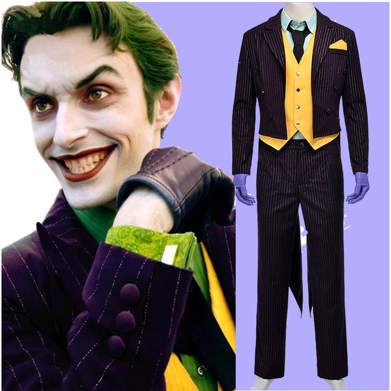 aliexpresscom buy new batman the dark knight joker cosplay costume adult halloween costumes from reliable costume fabric suppliers on shop1080878 store