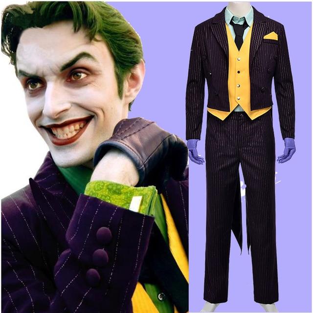 New Batman The Dark Knight Joker Cosplay Costume Adult Halloween Costumes  sc 1 st  AliExpress.com & New Batman The Dark Knight Joker Cosplay Costume Adult Halloween ...