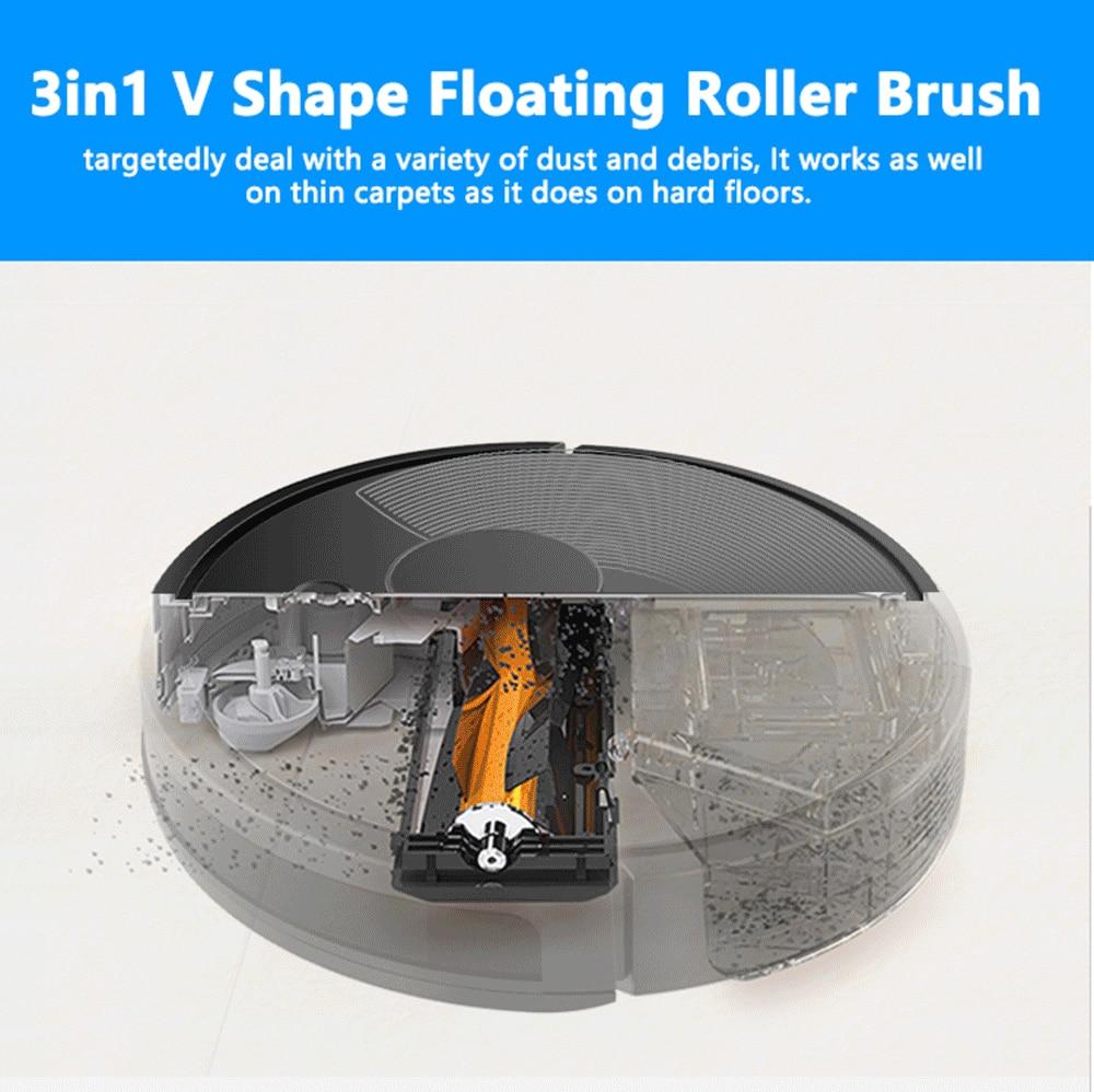 HTB1d60va3aH3KVjSZFjq6AFWpXad ABIR Robot Vacuum Cleaner x6 with Camera Navigation,Smart Memory,Hand Draw Virtual Blocker,Low Noise,Intelligent Big Water Tank
