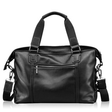Men's Luxury Soft Genuine Leather Handbag