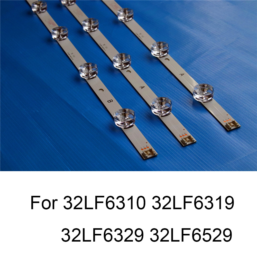 Brand New LED Backlight Strip For LG 32LF6319 32LF6310 32LF6329 32LF6529 TV Repair LED Backlight Strips Bars A B TYPE Original in Shell Body Parts from Consumer Electronics