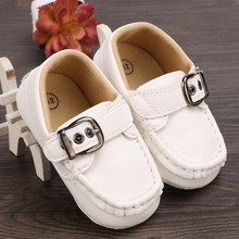 2016 Synthetic Real Direct Selling Solid Cotton Baby Infant Boy Girl Toddler First Walker Casual Fashion Soft Sole Faux Shoes