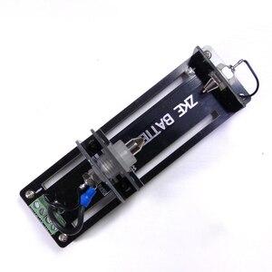 Держатель тестера емкости 4-проводной 5A-10A терминал проводка батарея тестовая подставка для 32650,18650, 26650,32700 AA, AAA батареи