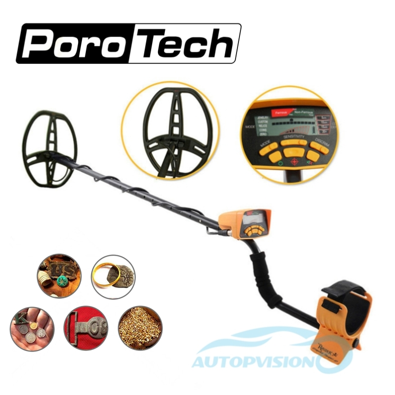 Underground Metal Detector MD6350 Professional Gold Digger Treasure Hunter MD6250 Updated MD-6350 Pinpointer LCD Display