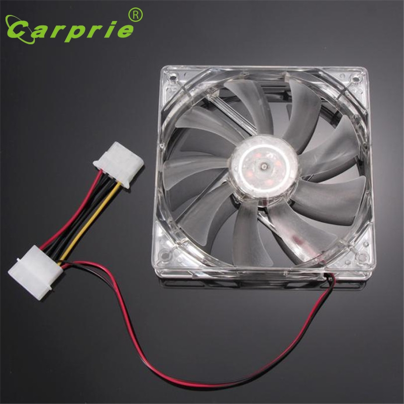 CARPRIE Green Quad 4-LED Light Neon Cooler 120 x 120 x 25 mm - Componentes informáticos - foto 2