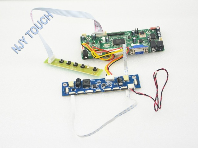 VGA DVI HDMI Placa Controladora HDMI LCD para M240HW01-V6 24 polegada 1920x1080 LVDS LED 6712K-F10N-02R M240HW01 V6 LCD placa de excitador
