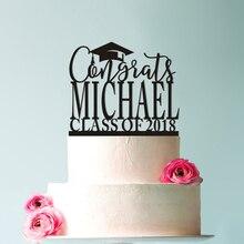 Custom Graduation Cake Topper Congrats Grad Cake Topper Graduation Decorations, High School Graduation Topper Custom Cake Topper thorne smith topper