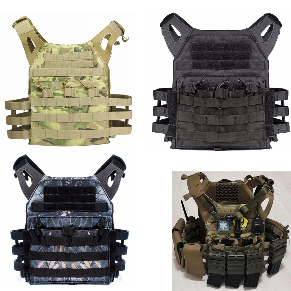 Military Tactical Plate Carrier Ammo Chest Rig JPC Vest Airsoftsports Paintball Gear Body Armor Simplified Version Vest for MEN transformers tactical vest airsoft paintball vest body armor training cs field protection equipment tactical gear the housing