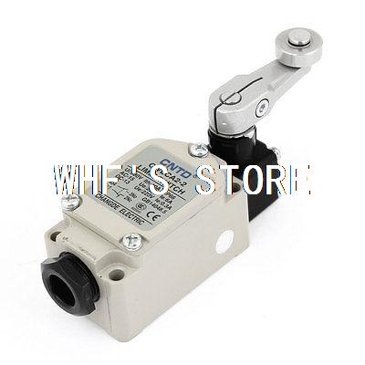 CWLCA2-2 Momentary Rotary Adjust Roller Lever Arm Limit Switch NO/NC 10pcs limit switches 3 pin n o n c 5a 125v 250vac micro switch roller lever arm pcb terminals kw12 3