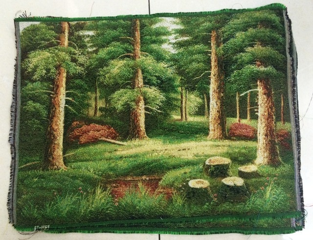 Free shipping Wholesale Price wall home decoration pictures, The Corner of Forest,Reproduction of  archaic oil painting