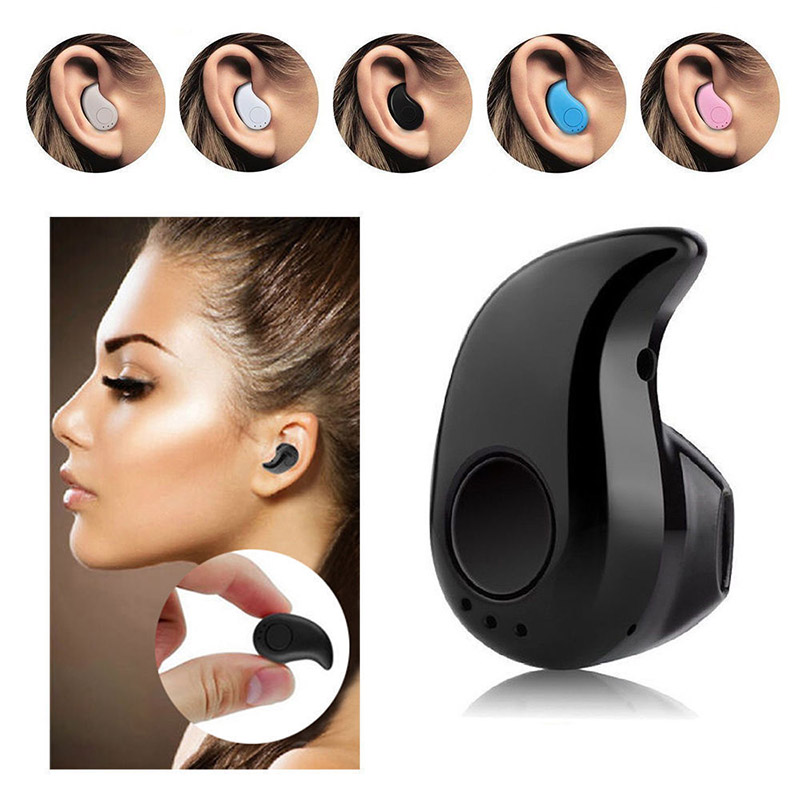 S530 Mini Wireless Bluetooth Earphone Music Stereo Headphones Headset With Microphone For iPhone Samsung Xiaomi Small Earphones remax 2 in1 mini bluetooth 4 0 headphones usb car charger dock wireless car headset bluetooth earphone for iphone 7 6s android