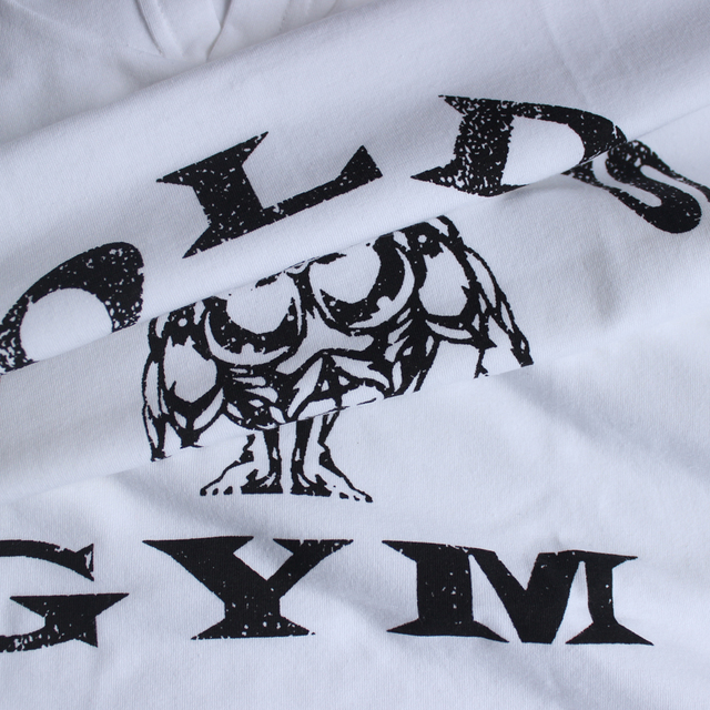 Mens Bodybuilding Hoodies Golds Gyms