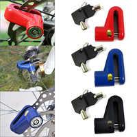 2pcs Disc Bike Lock Bicycle Rotor Motorcycle Anti-theft Scooter Disk Brake EDF88