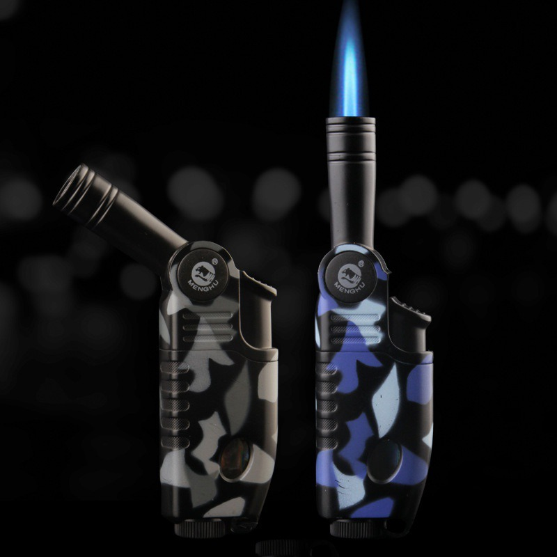Camouflage Gas Lighter Butane Cigarette Torch Arc Lighter Honest Fancy Oil Lighter Gadgets For Men Gifts Cigarette Accessories