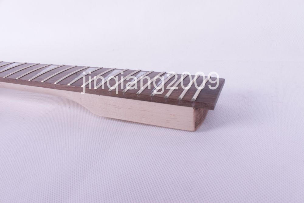 22 fret high quality Unfinished electric guitar neck maple made maple fingerboar lp 24 75 inch 22 fret unfinished electric guitar body and neck mahogany made maple fingerboard high quality