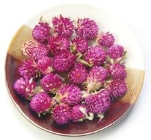 Pressed Flowers Purple Gomphrena globosa buds naturally Dried flowers Christmas home decoration dry flower 20PCS