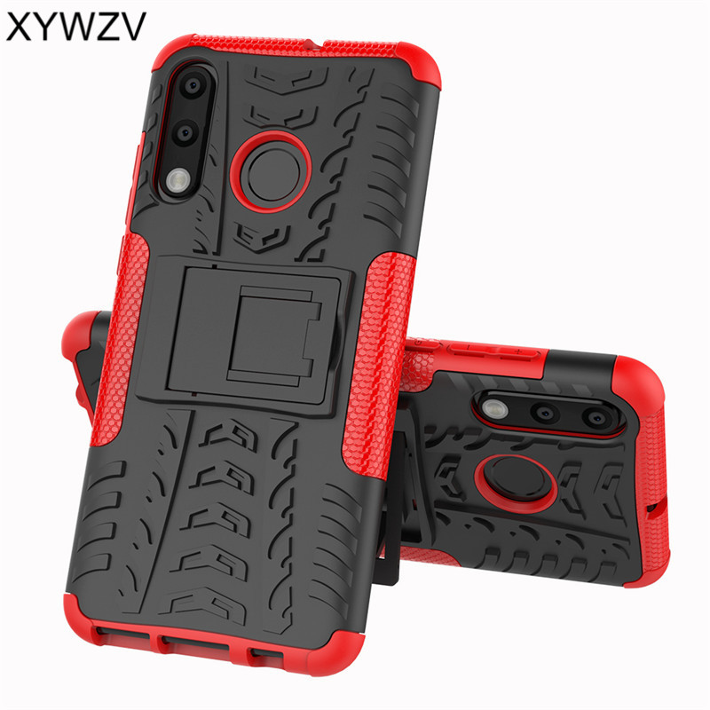 Cover For Huawei P30 Lite Case Shockproof Armor Rubber Hard Phone Back Fundas