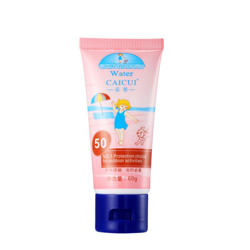 Face Cream Sunblock Protective Cream Moisturizing Skin Face Care Prevents Skin Damage Pigmentation