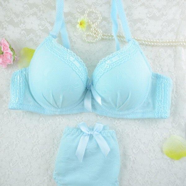 Sexy Women Underwire Bra Set Lace Push-up Underwear Brassiere Lingerie