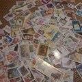 200 Unids/lote No Repetir Colecciones de Sellos Postales De Todo El mundo Con Matasellos de Sellos Postales Set Todos Los Utilizados Para la Recogida