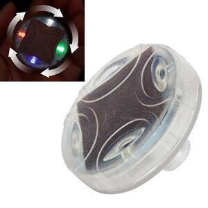 Image 5 - [1 יח ] רכב ואופנוע שמש גלגל אורות דקורטיבי LED צמיג אורות צבעוני שסתום אורות שונה חמים גלגלים אורות