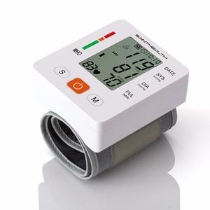 Image 4 - Gesundheit Pflege neue tensiometro digitale Blutdruck Monitor Handgelenk tonometer Automatische Blutdruckmessgerät BP Blut Druck Meter