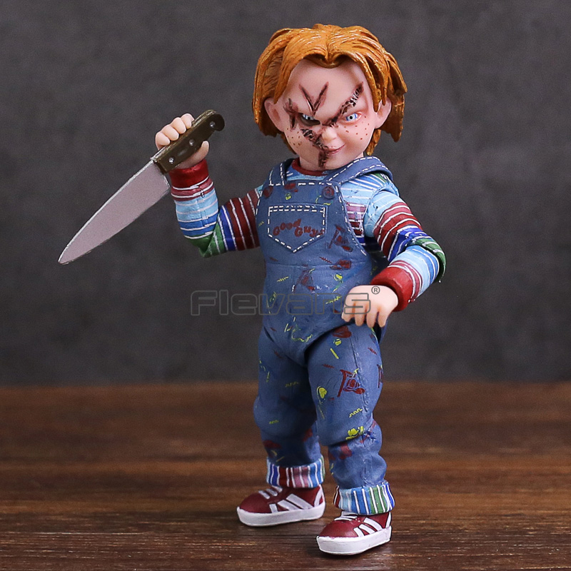 NECA Child's Play Good Guys Chucky PVC Action Figure Collectible Model Toy 10cm neca heroes of the storm dominion ghost nova pvc action figure collectible model toy 15cm