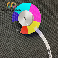 Projektor Dichroic Farbe Rad Fit für BENQ DX796STH DX806ST DX819ST ED8AD 6 Segmente 40mm