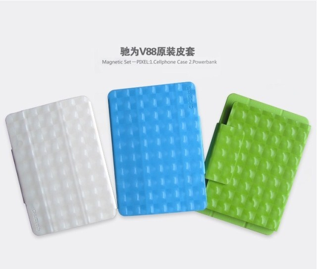 V88 original leather case exquisite holsteins magneticcontrol 7.9 belt function mini pad leather case