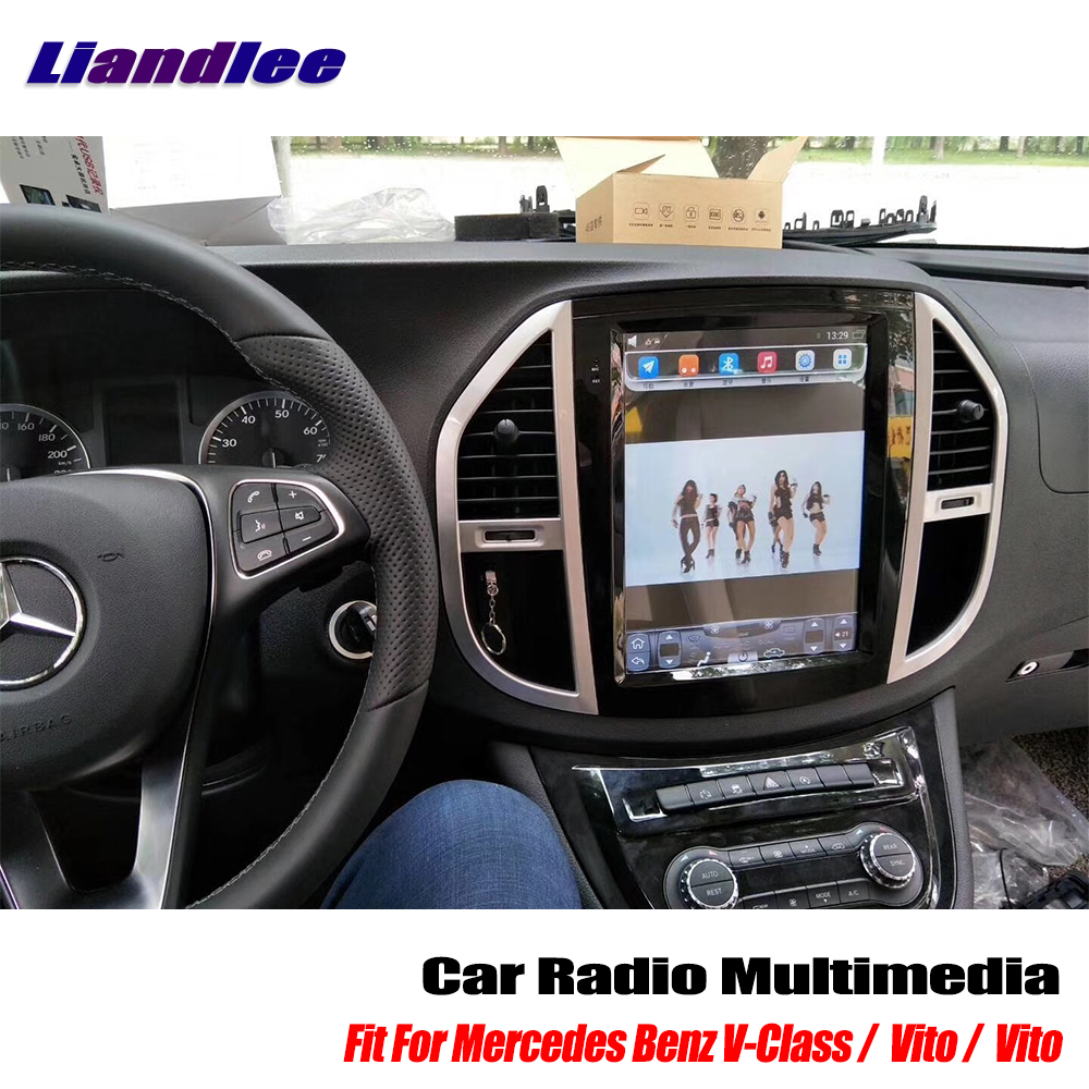 Liandlee 12 1 Inch Style Android Car Radio Player For Mercedes Benz V Class Vito Metris