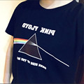 Специальный Подарок Pink Floyd Темная Сторона Луны С Коротким Рукавом футболки Мужчин Случайные Хлопка Мягкий Черный Tee shirt Женщины Camisetas Hombre