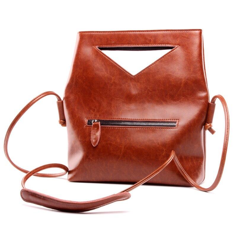 Livraison gratuite marque Designer 2017 femmes en cuir véritable Vintage unique sac à bandoulière femmes sacs à bandoulière sacs à main pour dames
