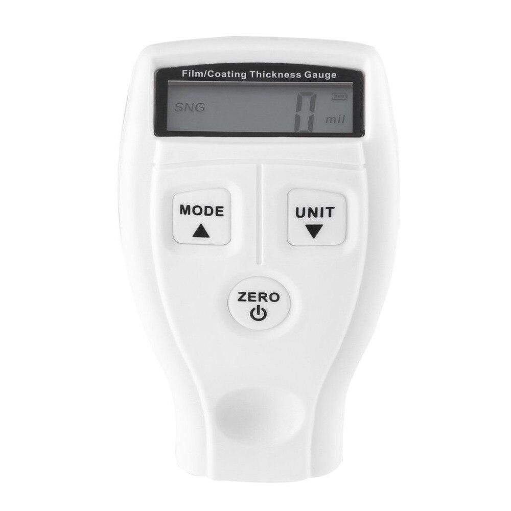 Medidor de espesor de recubrimiento Digital coche pintura espesor probador del metro del LCD Display GM200 GM201