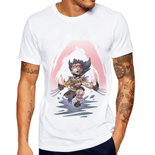 2019 Newest Men T Shirt Super Hero Printed T-Shirt Short Sleeve 100% Cotton Avengers Man Tops Tee Shirts Werewolf Remeras Hobre