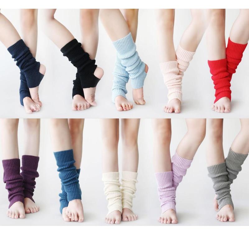 Dance Legwarmer Women Ballet Warm Ups Long Legwarmer Winter Dancewear Dance Clothing Thigh Leg Warmer Knee Protector