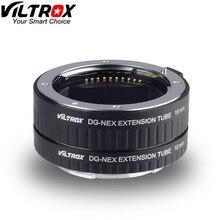 Viltrox DG NEX Auto Focus Macro Tube dextension anneau pour SONY e mount NEX 5R NEX 5/6/7 A7 A7R A7S A7SII NEX 7 A6000 A6300