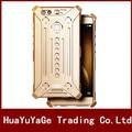 Телефон Шкафы металлические Оболочки Прохладный Металлический Алюминий Задняя Крышка IRONMAN защиты чехол для Huawei P9 Plus Mate 7 Honor Mate 8 V8 8