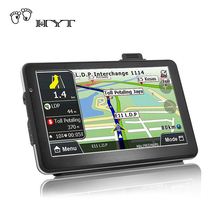 GPS Navigation Android 7″ DVR Cam Car rear view camera Bluetooth WIFI Quad-core Truck vehicle gps Russia/Europe Two cameras