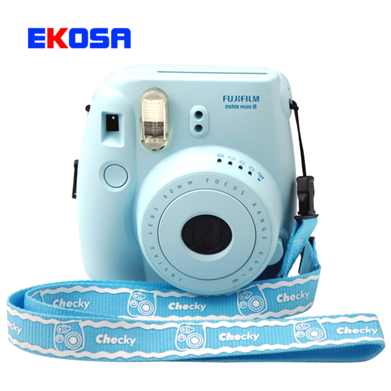 Aliexpress.com : Buy Universal Camera Neck Straps String Rope for Fujifilm Instax Mini 8 7s Crystal Shell Digital Camera Accessories Blue Pink from Reliable ...