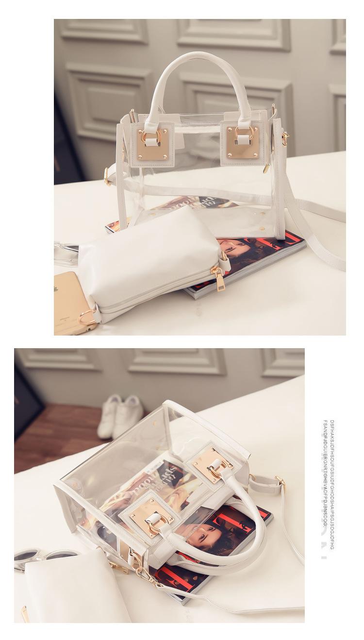 Trasparente Bag Colore dei 9