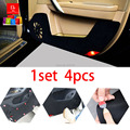 Car door Protector Pad covers car-styling sticker mats Fit For Kia Soul All 1set/4pcs black car-styling