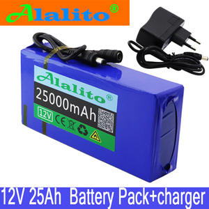 Lithium-Ion-Battery-Pack 25000mah-Battery Super-Rechargeable High-Quality DC 25ah 12v