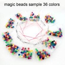 DOLLRYGA Water Beads Sample 36 colors/bag jouet enfant hama Magic aqua Pegboard Perlen for Children Toys Kids Craft