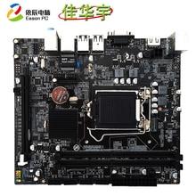 Jiahua Yu H110 desktop computer motherboard LGA1151 DDR4 support Intel Core 6 generation 7 generation CPU 32G USB3.0 SATA3.0 цена