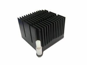 Image 2 - 1 stücke Motherboard chip set kühlkörper 40*40*30mm 59mm aluminium kühlkörper loch abstand north South Bridge kühlkörper