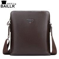 BAILLR 2017 Brand 100 Genuine Leather Men S Crossbody Bag Casual Business Mens Messenger Bag Real