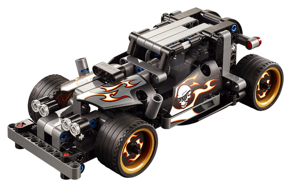 DECOOL Technic Getaway Racer rakennuslohkot asetetaan lapsille Malli Lelut Marvel Compatible Legoings