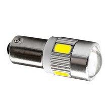 Ba9s t4w 233 363 t11 6 smd 5630 5730 led carro luz de estacionamento interior leitura lâmpadas cúpula do motor lâmpadas vermelho azul amarelo verde branco