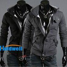Hot hoodie warm Kragen neue marke herren Jacken warmen mantel hoodie baumwolle warmen kragen kappe Männer