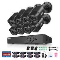 ANNKE 8 X 1500TVL 720P Outdoor Cameras 1080N TVI 4in1 8CH DVR Security System CCTV Surveillance
